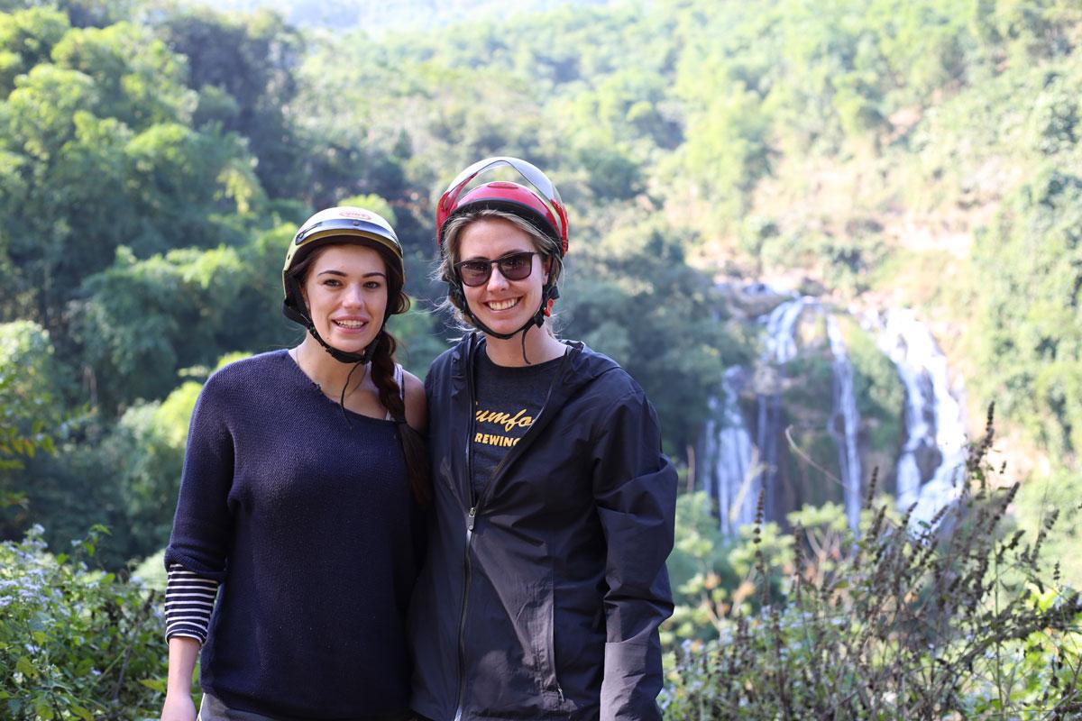 Chasin' waterfalls in Mai Chau.