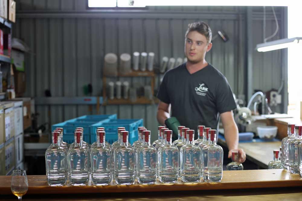 Business idea: hotties of the Australian distillery industry calendar.