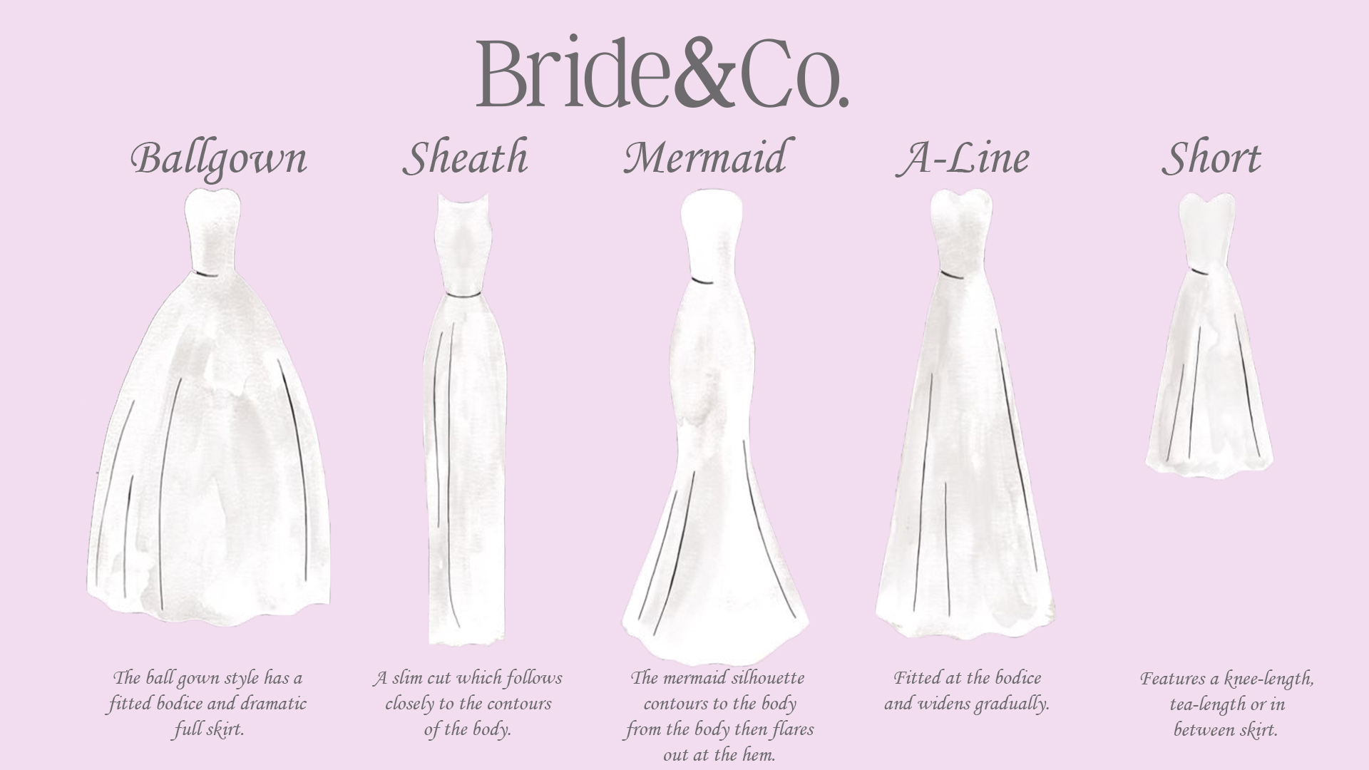 How To Choose The Perfect Wedding Dress Bride Co Luxury