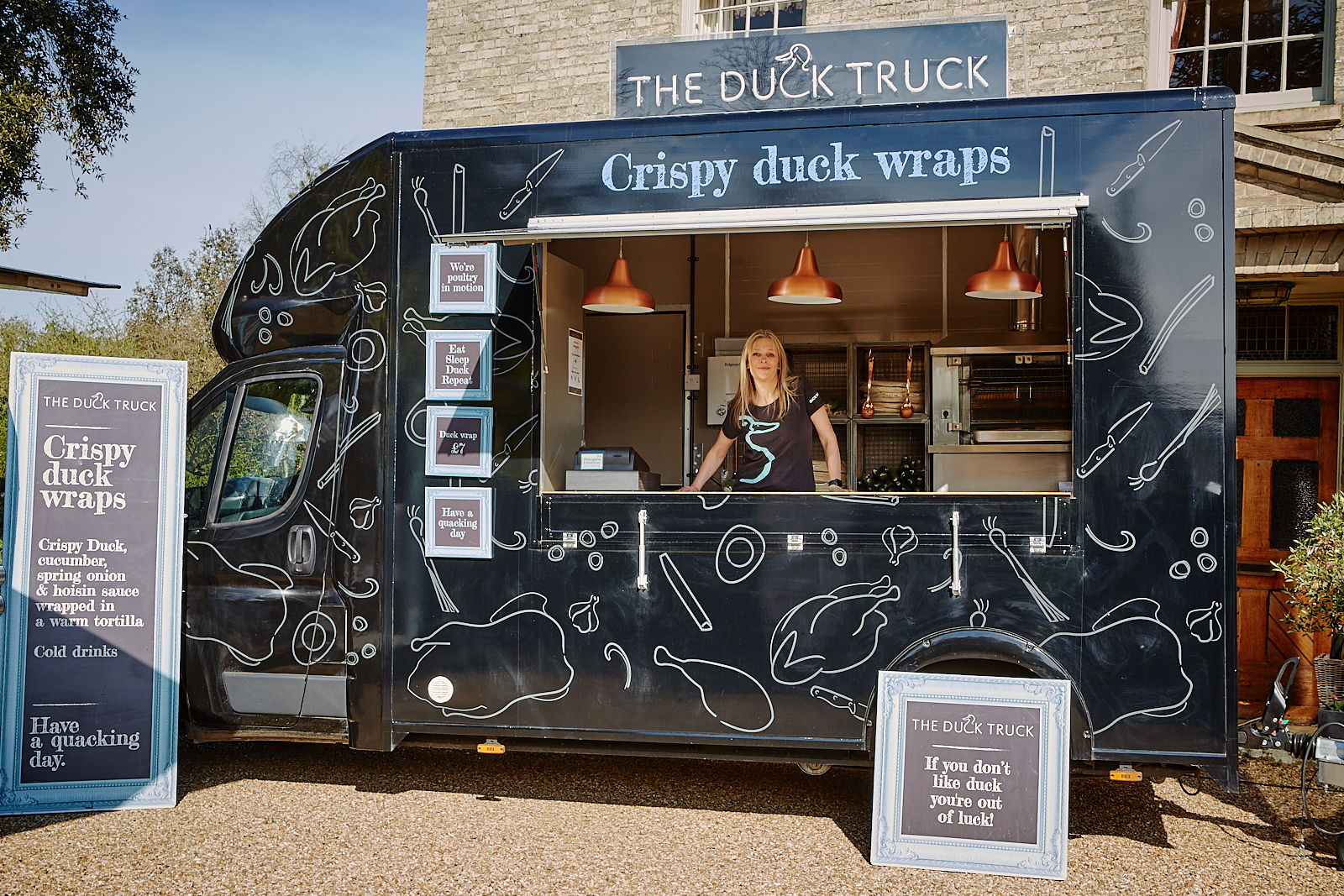 The Duck Truck Norfolk - Covers - Norfolk, Suffolk, Lincolnshire & Yorkshire