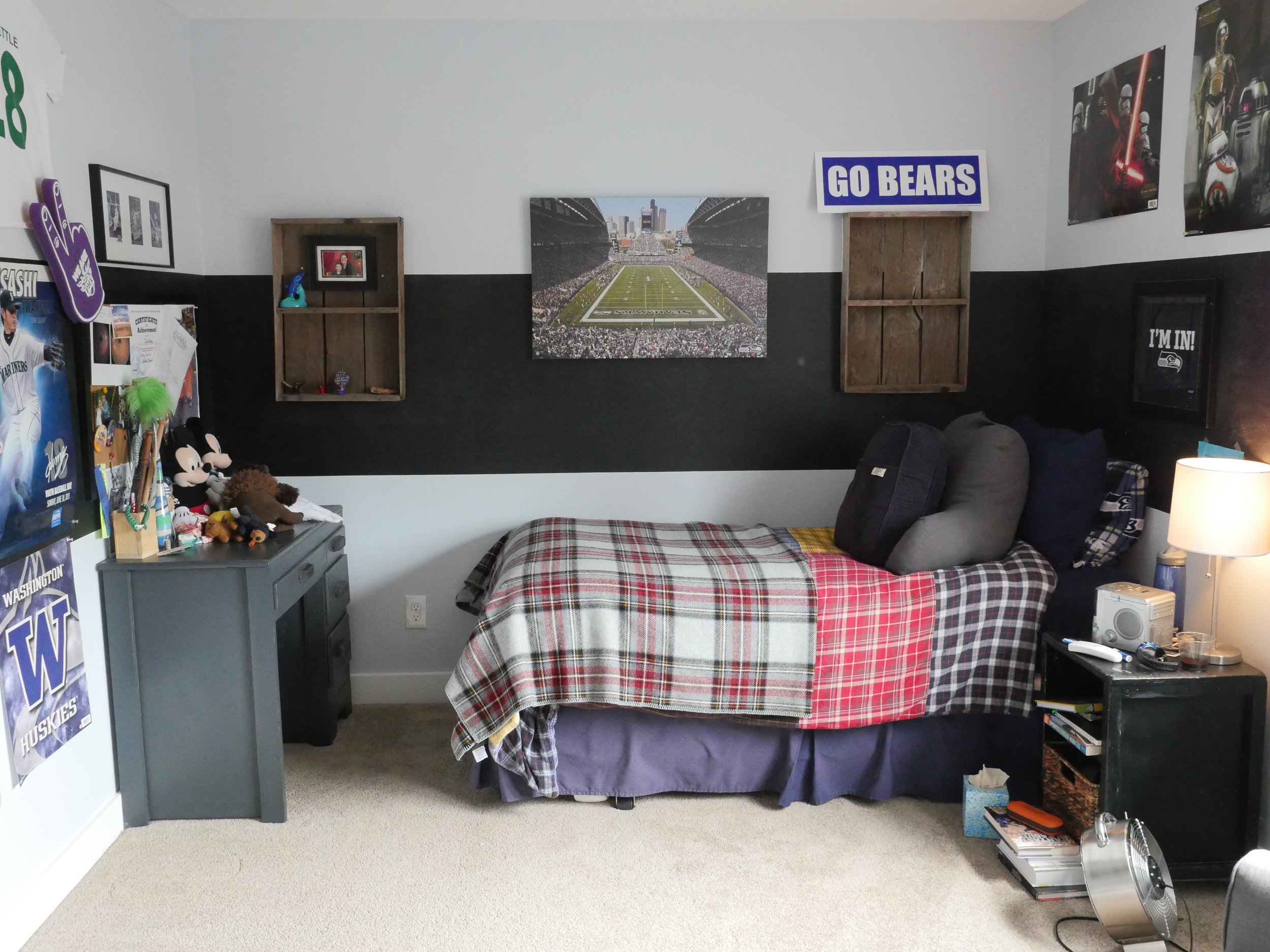 Jen Gilday Interiors - Teen Boys Room Before 2