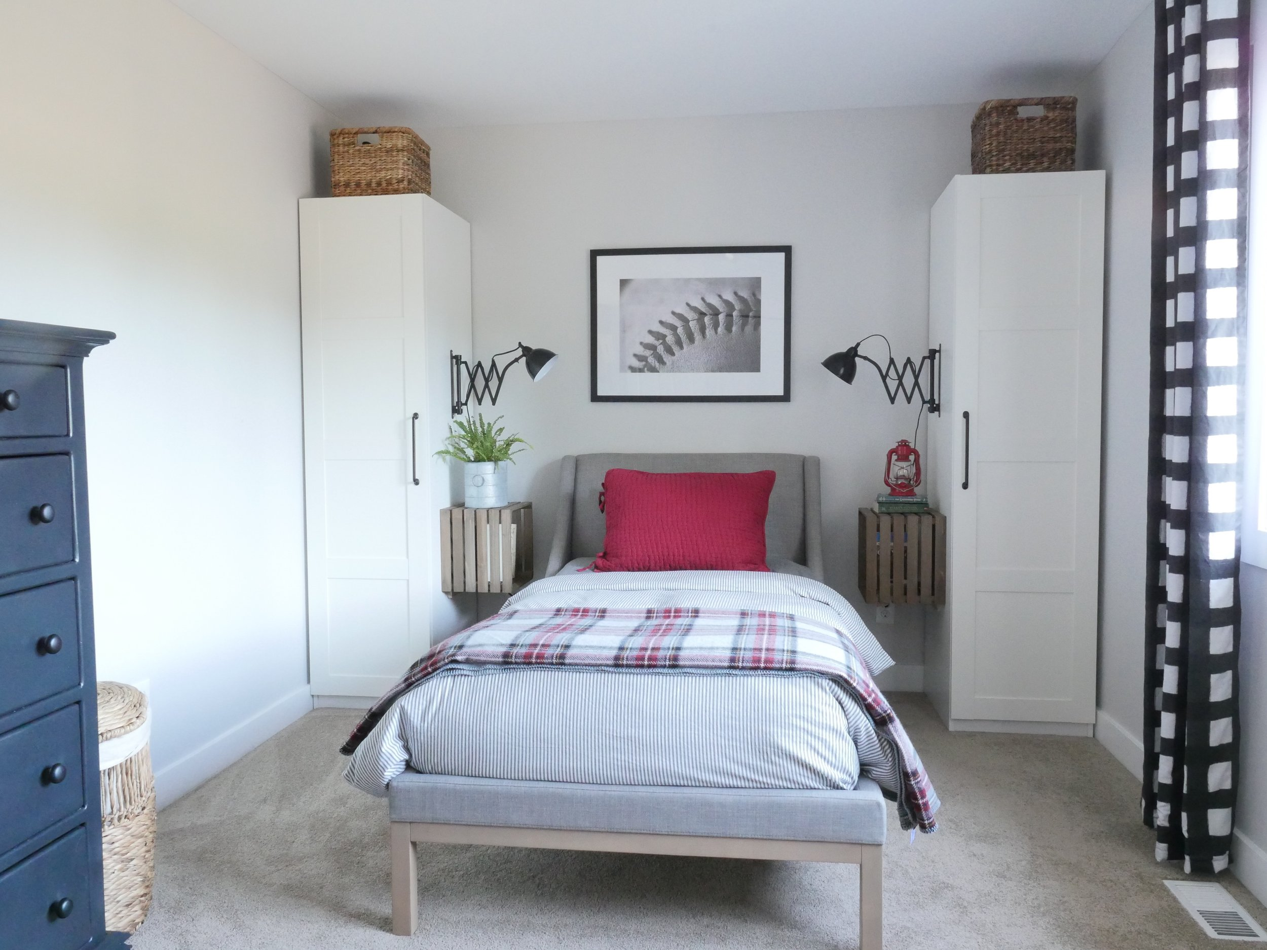 Jen Gilday Interiors - Teen Boys Room After 1