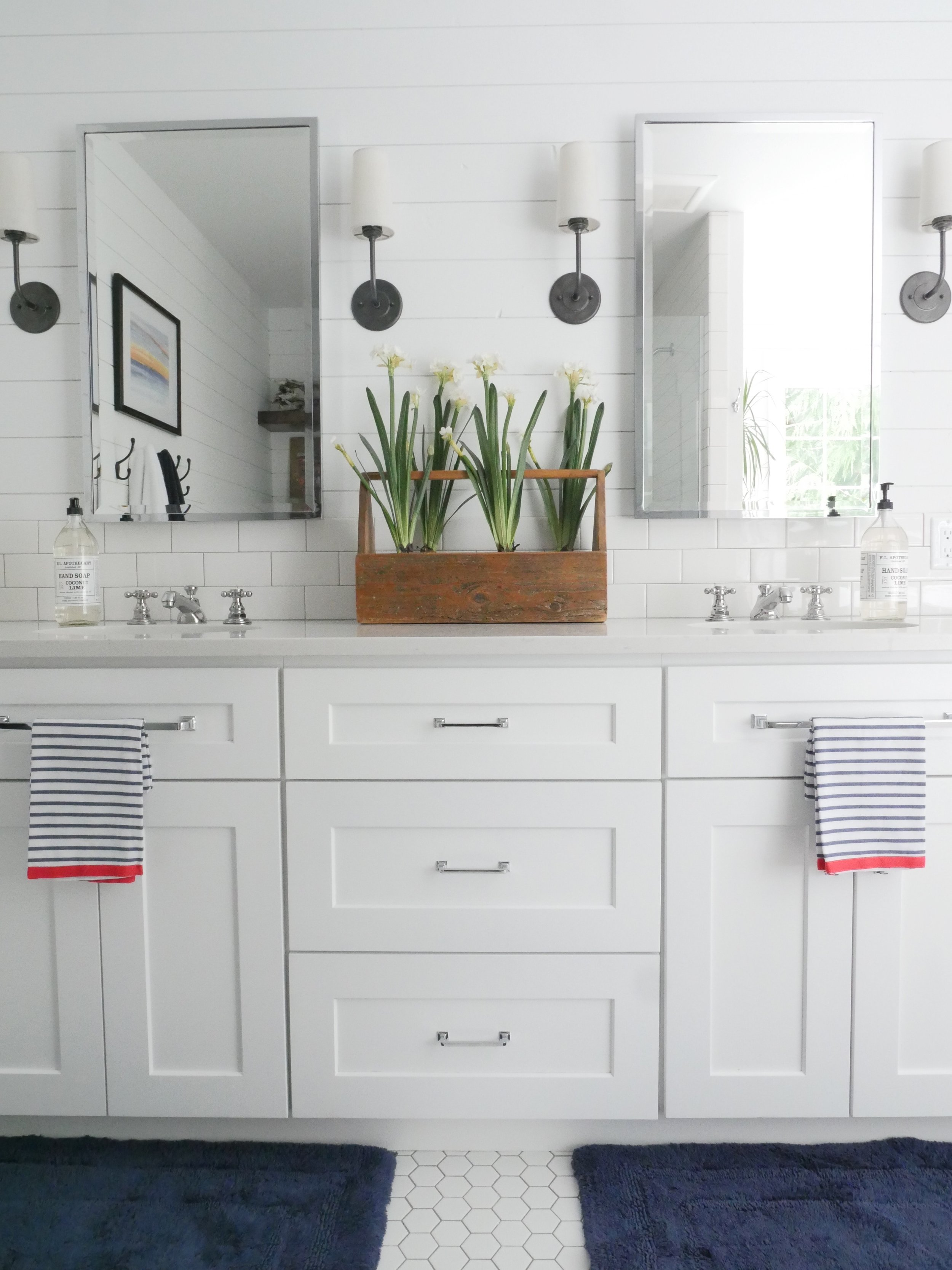Jen Gilday Interiors - Master Bathroom 'after'