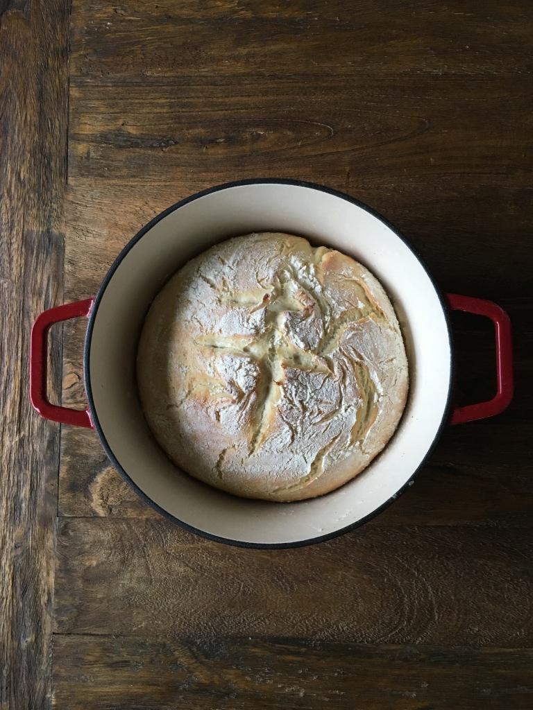 Jen Gilday Interiors - Dutch Oven Bread Recipe