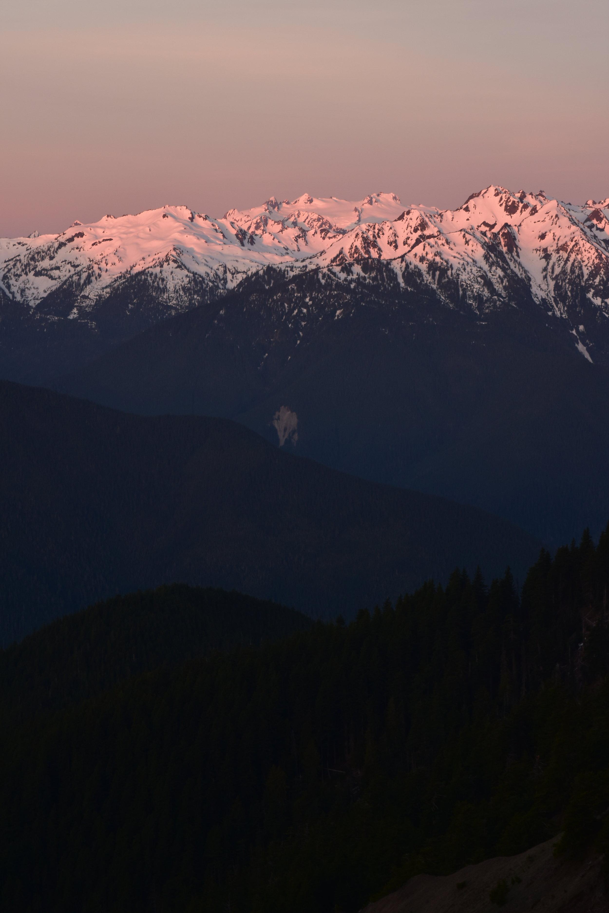 Mt Olympus etc. at sunrise