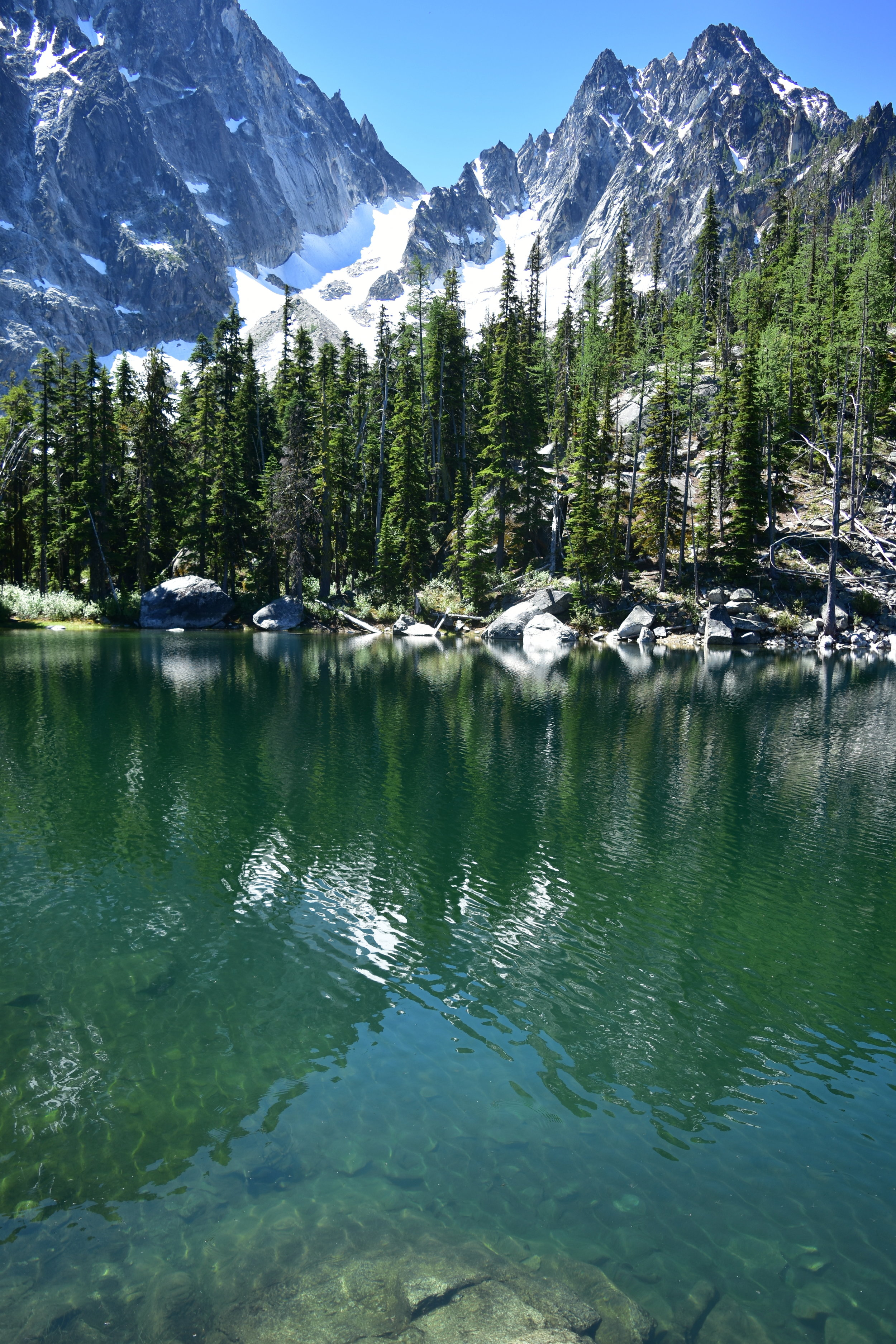 Lake Colchuck and Mount Colchuck