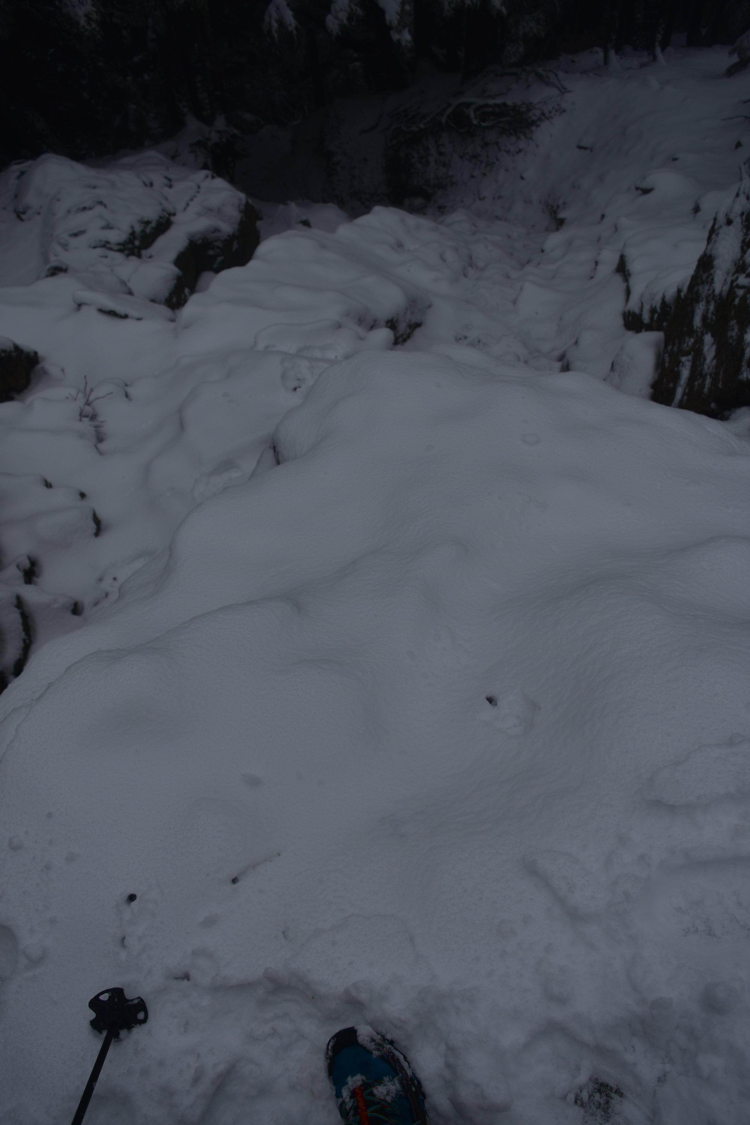 1/3 way down Haystack