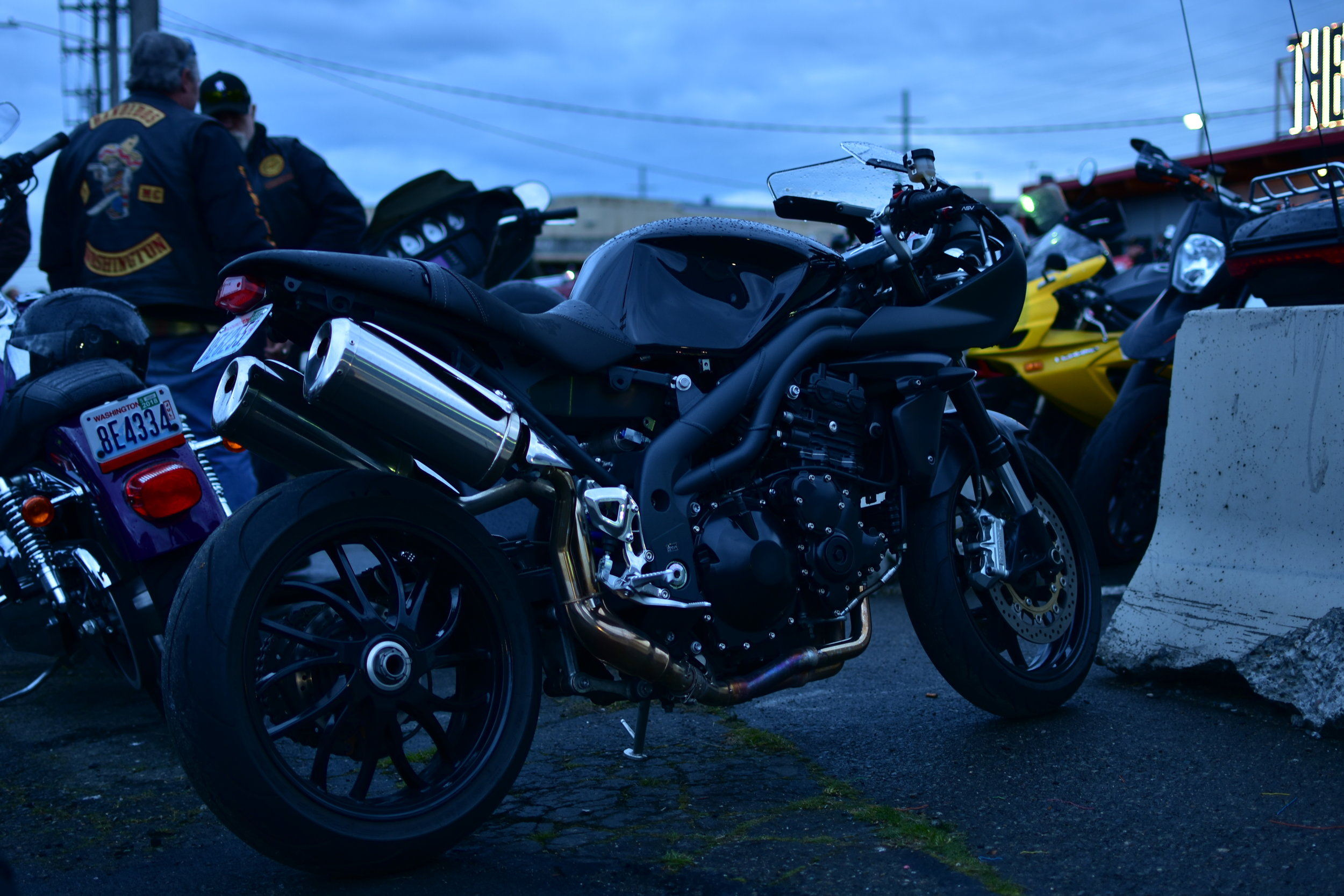 Speed Triple/Thruxton R