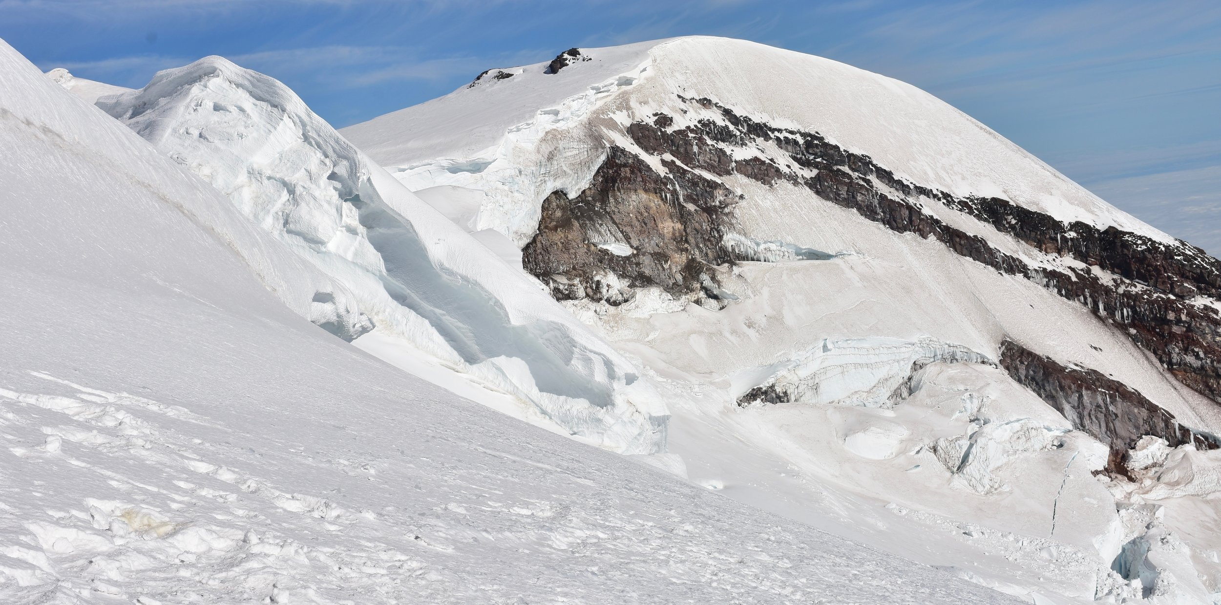Liberty Cap from Emmons Glacier