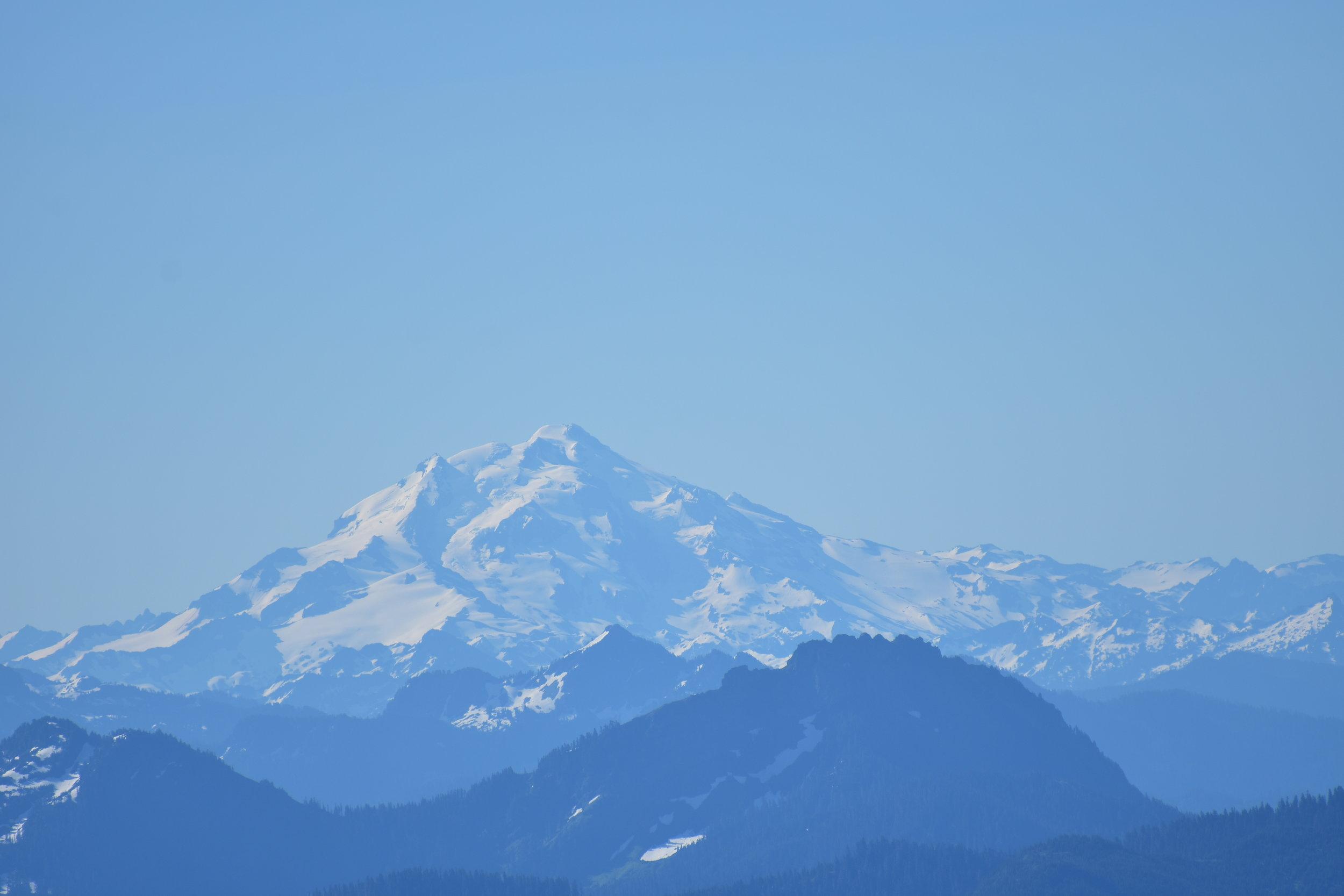 Glacier Peak from Mt. Baker