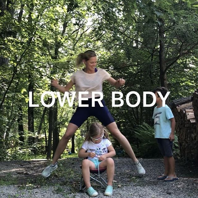 We have five kids at our lake this week 🤪so it's been a little hectic and I'm struggling to find time to workout.  Then I remembered the advice I give all the women who ask 👉🏻👉🏻just move! You don't need much time and you don't need to overthink it!  This circuit doesn't need equipment and you can do it anywhere!  Make time for yourself 💕 #justmove #outdoorworkout #workoutwithkids #fithealthyworkouts #homeworkout #noequipment . 💪🏻Try each move for 12 reps and go for 4 rounds! . 💫TIP: If your kids are the ones making it challenging to workout - try and involve them a little!  I just started moving right in the middle of their play and it worked out! (Sometimes it doesn't 😳) In this case, half of them took interest and the others didn't - but, either way, I felt great afterwards and was happy I took the time🙌🏻 . ✅Always consult your doctor before starting a new exercise program, especially when pregnant . . . . . . . . . #makeitworkmomma #lowimpactworkout #lowimpact  #LIIT #igfitmoms #fitmomsofig #postpartumworkout #athomeworkouts #homeworkout #postnatalfitness #excercisevideo #homeworkouts_4u lowerbodyworkout #womensfitness #womenshealth #postpartumfitness #summerworkout #workoutsformoms