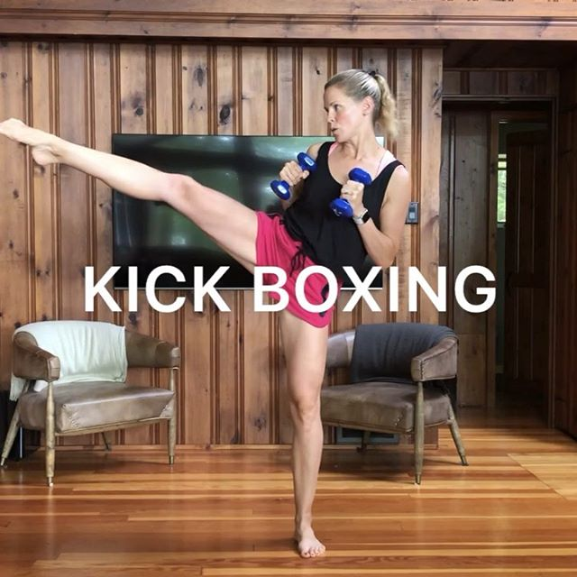 Kick boxing workout! (Kinda 🥊 ha) For this one, I was channeling my inner kick-boxer and also my friend Andrea from @deliciouslyfitnhealthy who always inspires me 💕💪🏻#kickboxing #totalbodyworkout #athomeworkout #fitmomsofig #homeworkouts_4u . Try each move for 12 reps, rest for 20 seconds and go for 4 rounds! . 💫TIP: Don't worry about kicking high for the first move - go as high as you can manage while staying solid on the other leg.  Aim to keep your hips pointed forward⚖️ . ✅Always consult your doctor before starting a new exercise program, especially when pregnant. . . . . . . . . . . . . . . . . .  #makeitworkmomma  #fithealthyworkouts #homeexercises #girlyexercises #fitnessforall #igfitmoms #befitvideos  #gununegzersizi #sixpackfemmes #homesquat #squatguide #womenshealth #athomeworkouts  #WHStrong #dailyworkout