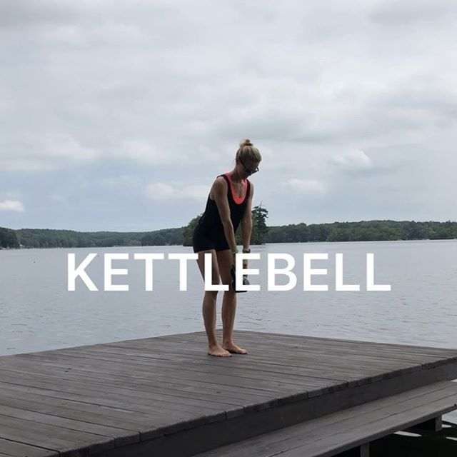 Kettlebell workout 💥 I miss using heavier weights when I'm at the lake (I only have 5 and 10lbs dumbbells here) and almost forgot I have this 30lb kettlebell!  It felt great to give my muscles a deep burn🔥 #kettlebell #lowerbodyworkout #athomeworkout #fitmomsofig #womensfitness #girlaesthetics . 💪🏻Try each move for 12 reps, rest for 20 seconds and go for 4 rounds! . 💫TIP:  Remember your breath when you're using heavier weight 💨 For the swing - inhale as you swing back through the legs and begin your exhale as you come forward and press up - think of blowing out a candle 🕯 and concentrate on keeping your core strong and engaged (on the exhale) . ✅Always consult your doctor before starting a new exercise program, especially when pregnant. . . . . . . . . . . . . . . . . .  #makeitworkmomma  #fithealthyworkouts #postpartumfitness #homeworkouts_4u #homeexercises #girlyexercises #fitnessforall #igfitmoms #befitvideos  #gununegzersizi #sixpackfemmes #homesquat #squatguide #womenshealth #athomeworkouts  #WHStrong #dailyworkout