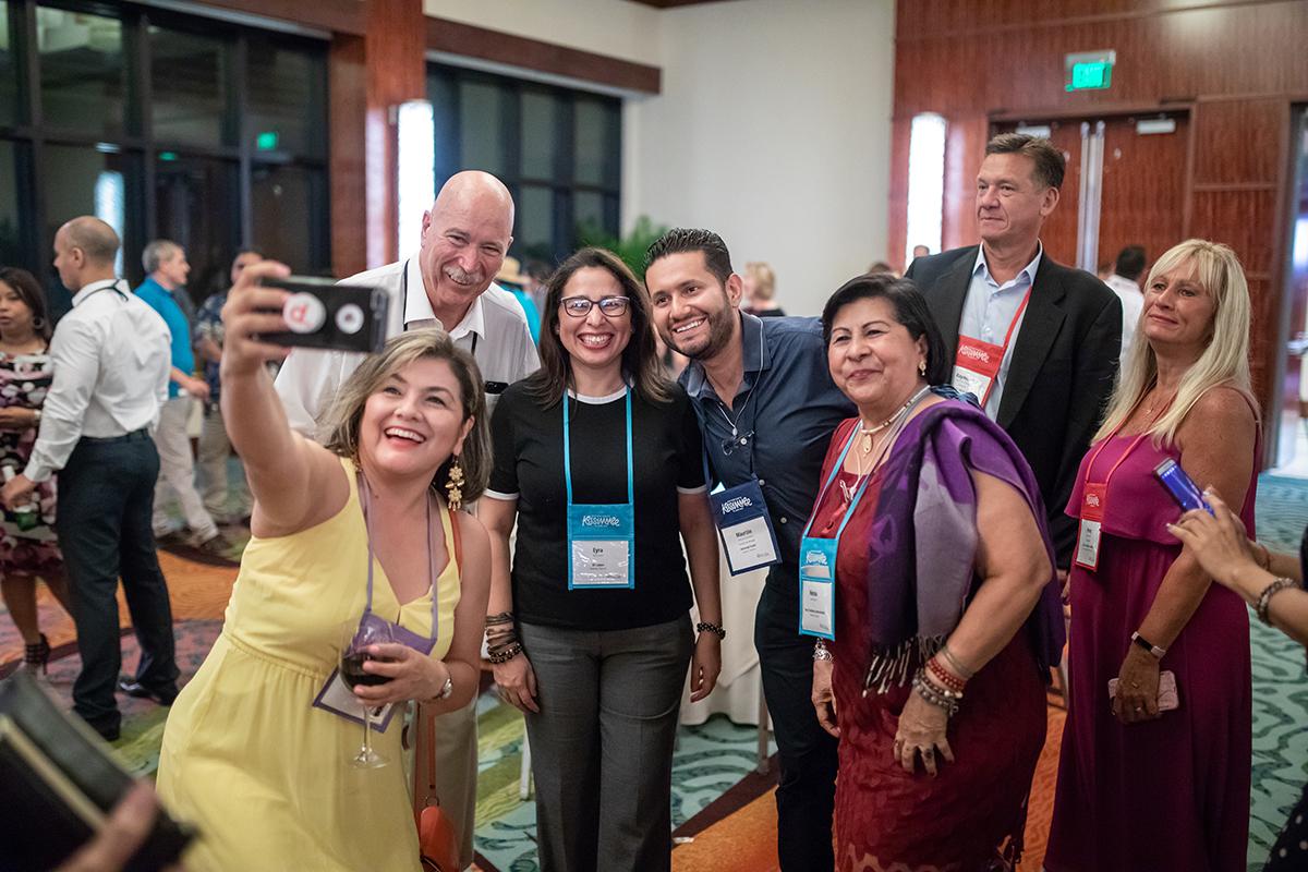Algunos de nuestros maravillosos participantes de La Cita 2018