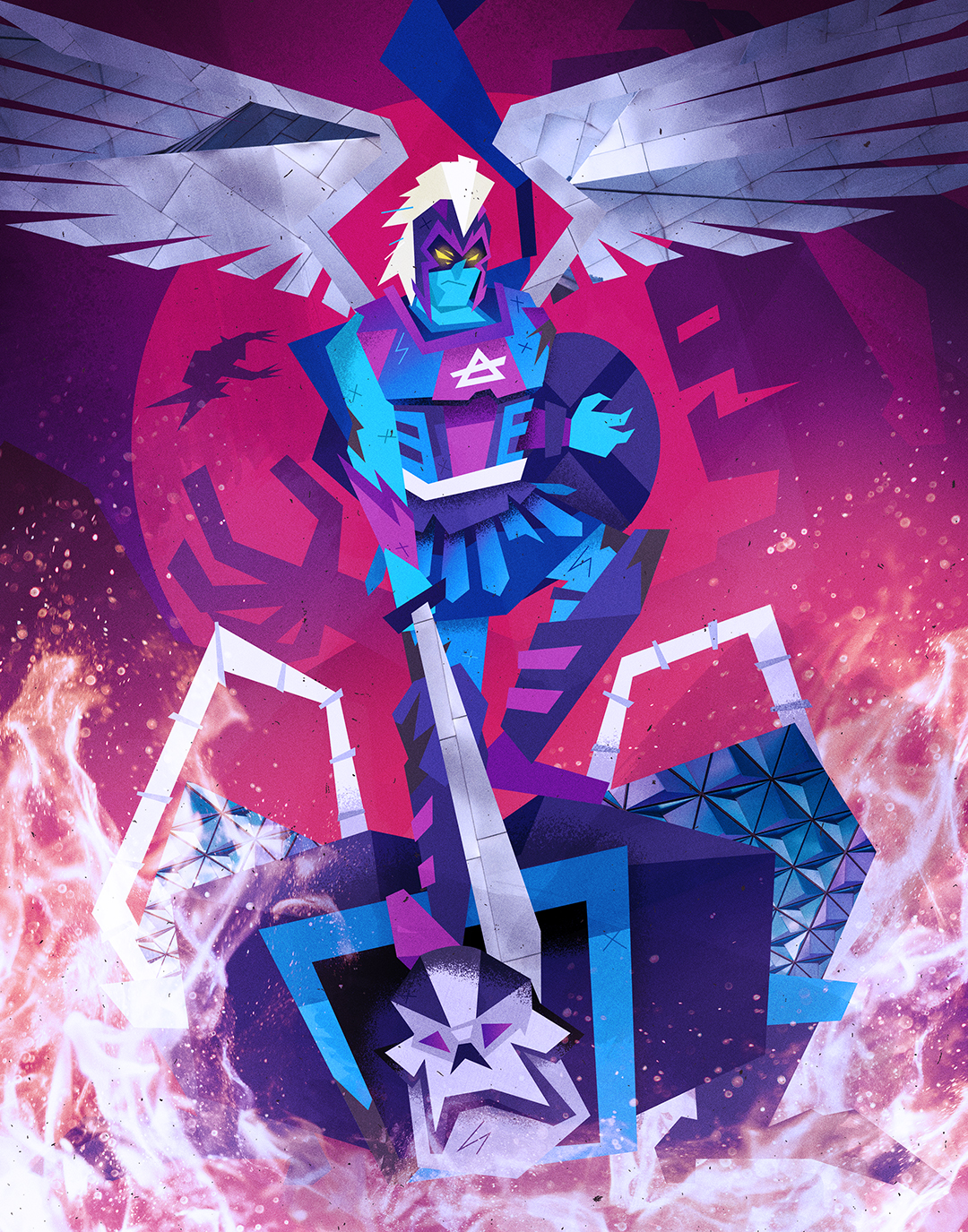 """""""Archangel The Triumphant"""""""