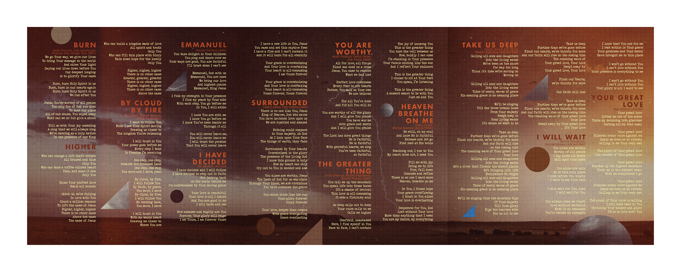 3-Panel Insert | Side B (Lyrics)
