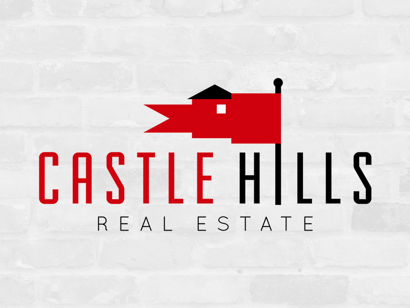 "This is a brand I put together for my parent's business,  Castle Hills Real Estate , and it's still going strong! This mark can be spotted on ""Sold!"" signs all throughout one of DFW's most thriving neighborhoods."