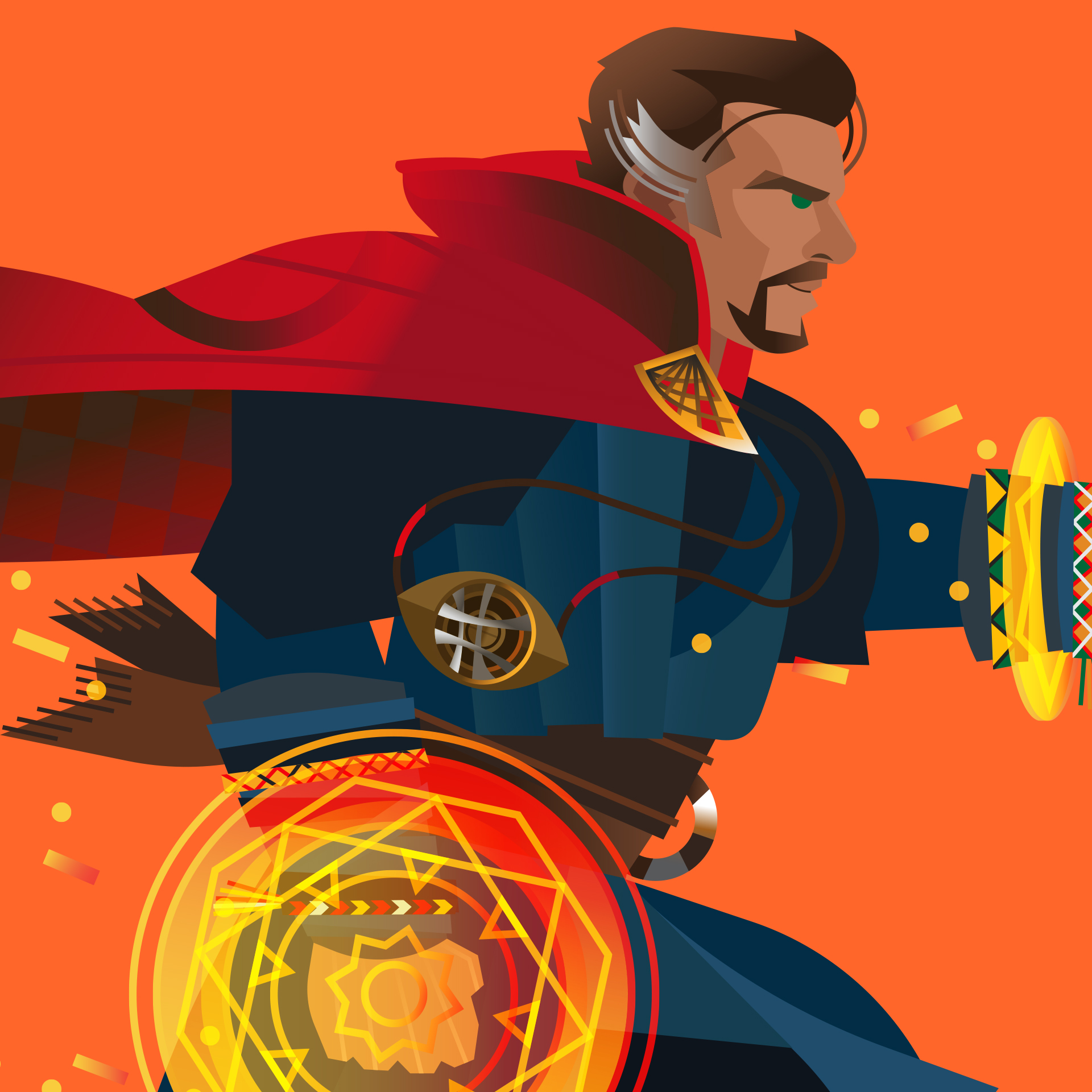 Art By Collin_The Gauntlet_Dr Strange 1.jpg