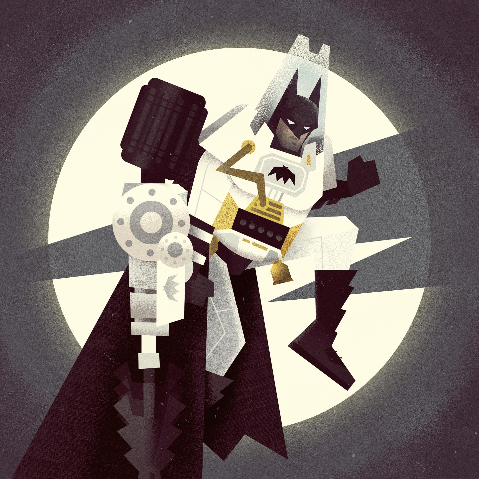 """The Deluxe Knight (Arctic Armor Blast)"""