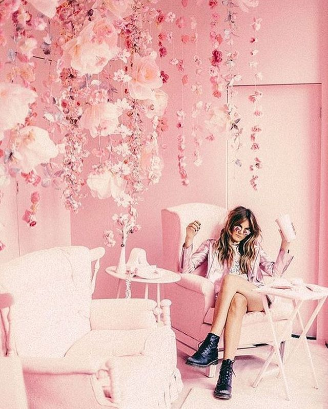 All things #pretty & #pink 💕🎀🌸 #larajeanloves #fashion #styleblogger