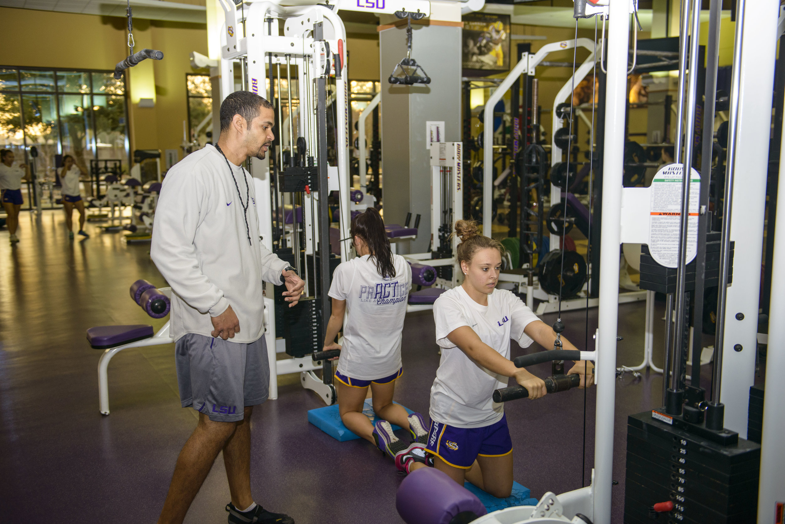 Strength & Conditioning — LSU Gymnastics
