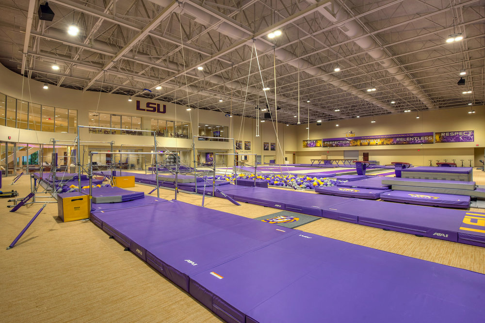 Gymnastics Training Facility — LSU Gymnastics