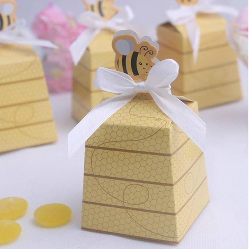 BABY SHOWER FAVOR BOXES - ONE PIECES AND TWO PIECES FAVOR BOXES