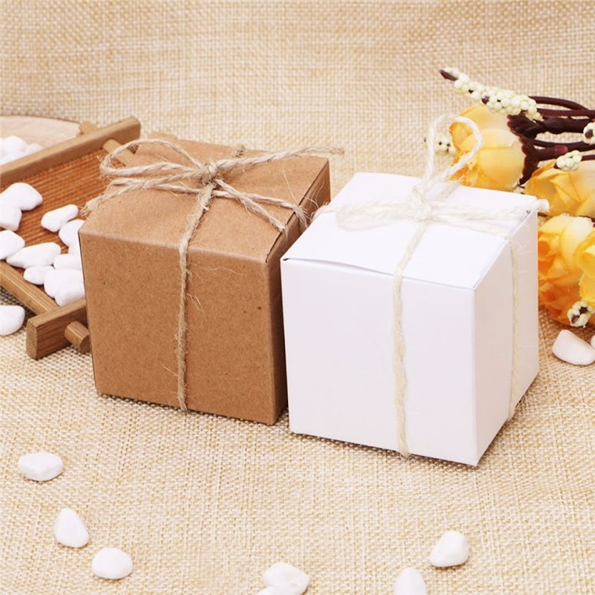3x3 INCHES BOXES - ONE PIECES AND TWO PIECES FAVOR BOXES