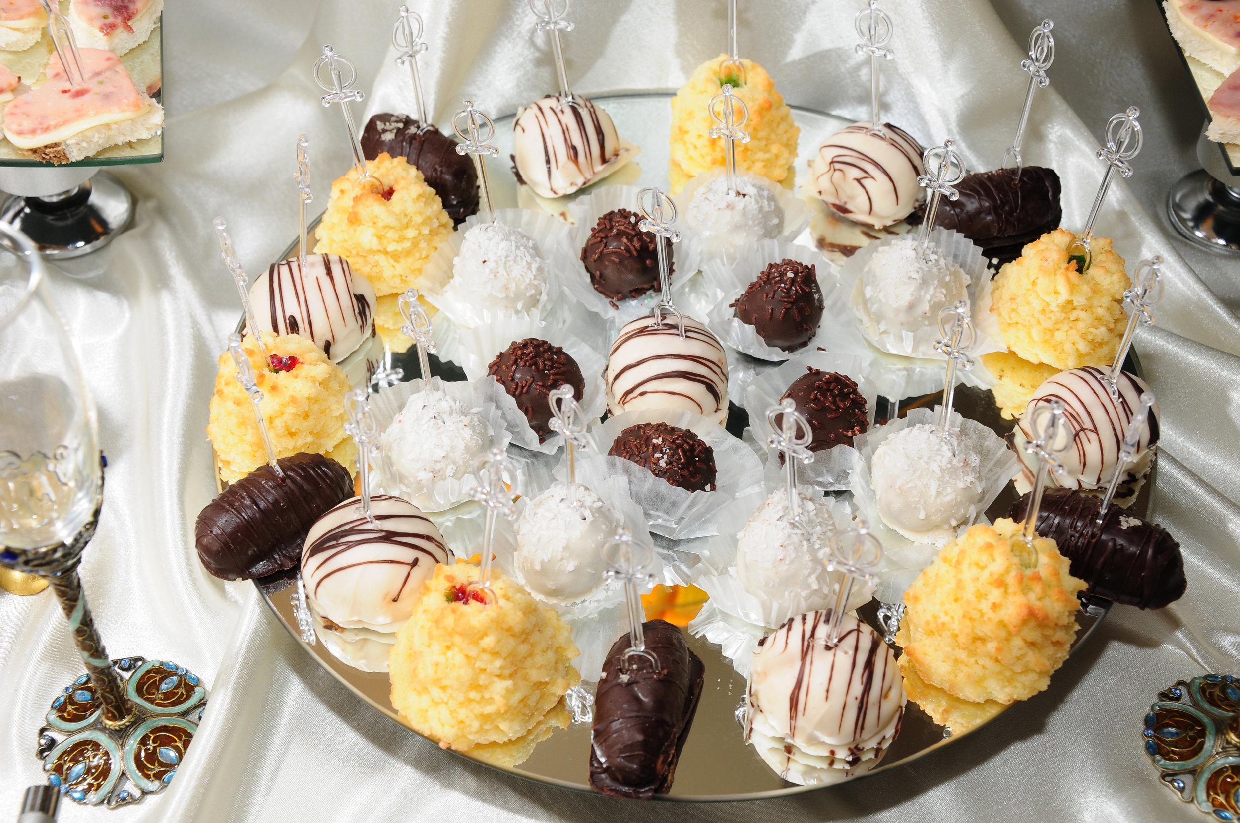 chocolate Dessert Table treats -