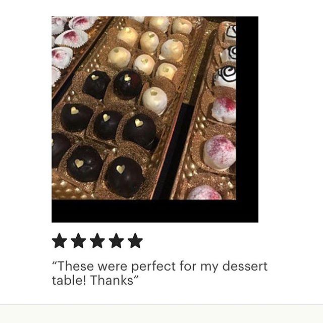 ❤️Thank you for your kind words!!🥰 #customerreviews #etsy #etsyshop #fivestar #forminhasparadoces #forminhatelaescocia #truffles #trufflewrappers #trufflewrapper #candyliner #truffleholders #partydecorations #desserttable #desserts #decoracaodemesa #mesadedocesfinos #docesfinosgourmet #philadelphia #