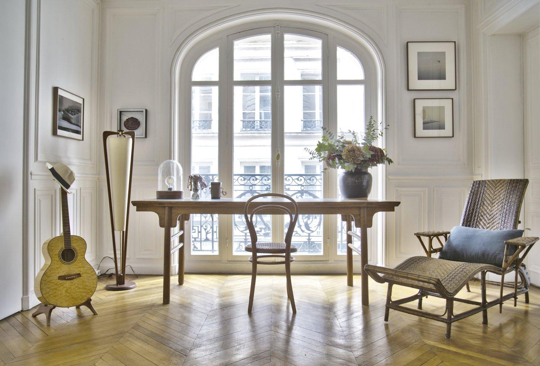 Photo Salon Feng Shui a harmonious and sophisticated paris apartment — feng shui