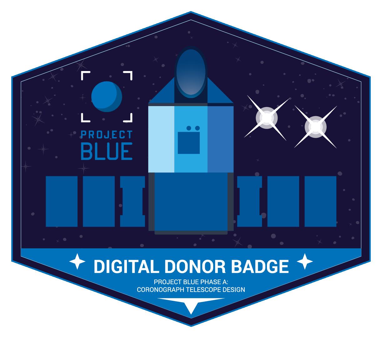 Digital Donor Badge