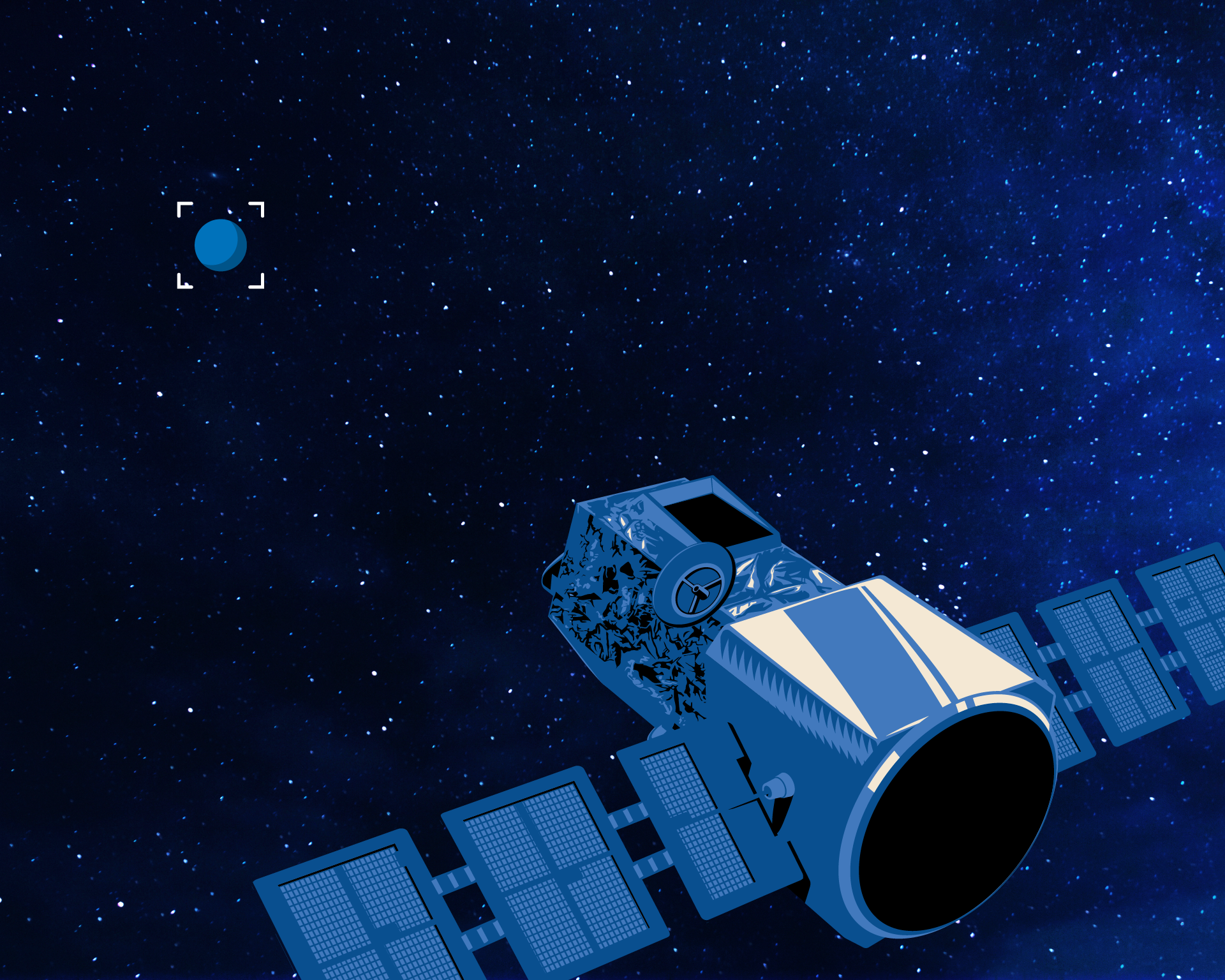 Project Blue #SearchForSisterEarth Fullscreen Wallpaper