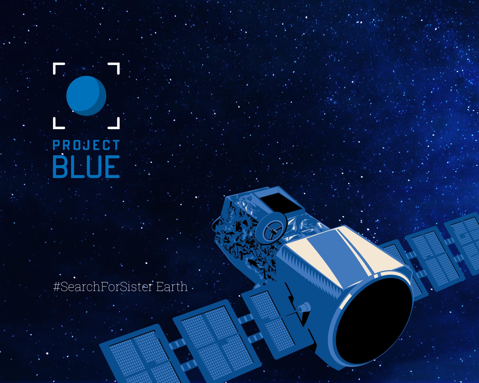 Project Blue Fullscreen Wallpaper