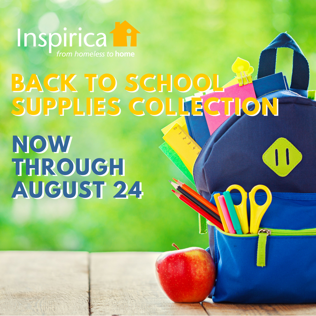 Help us kick-start the year for the children in our care – donate school supplies to ensure they go back to school in style and ready to learn! From now through August 24, we're collecting school supplies:   wish list and details for drop-off here.    Whether it's a composition book here or a pack of crayons there, any little bit you can donate will make a HUGE difference in the lives of the children in the shelter!