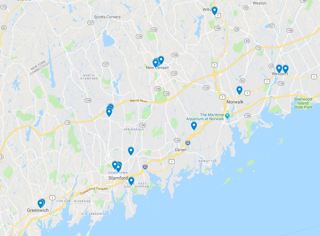 DONATION BOX LOCATIONS - CLICK HERE for a full listing of dropbox locations in Connecticut or use this handy Google Map!