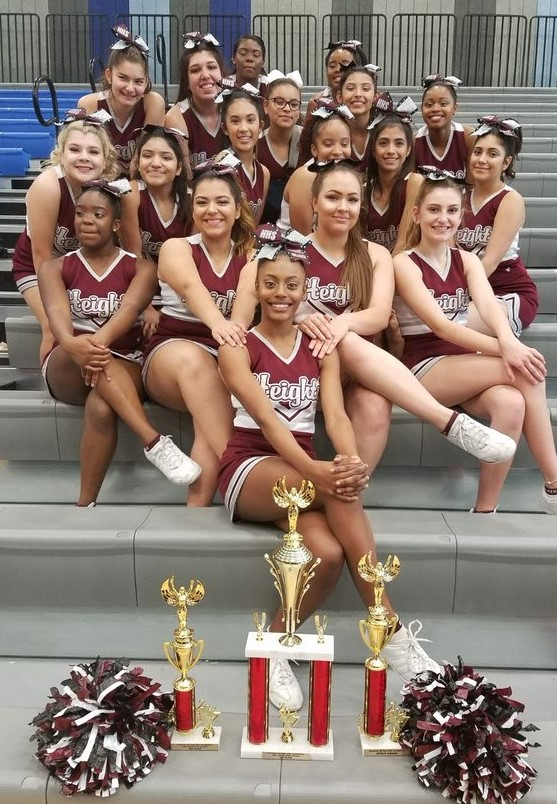 2017 1st Place - CHEER & SPIRIT AWARDS
