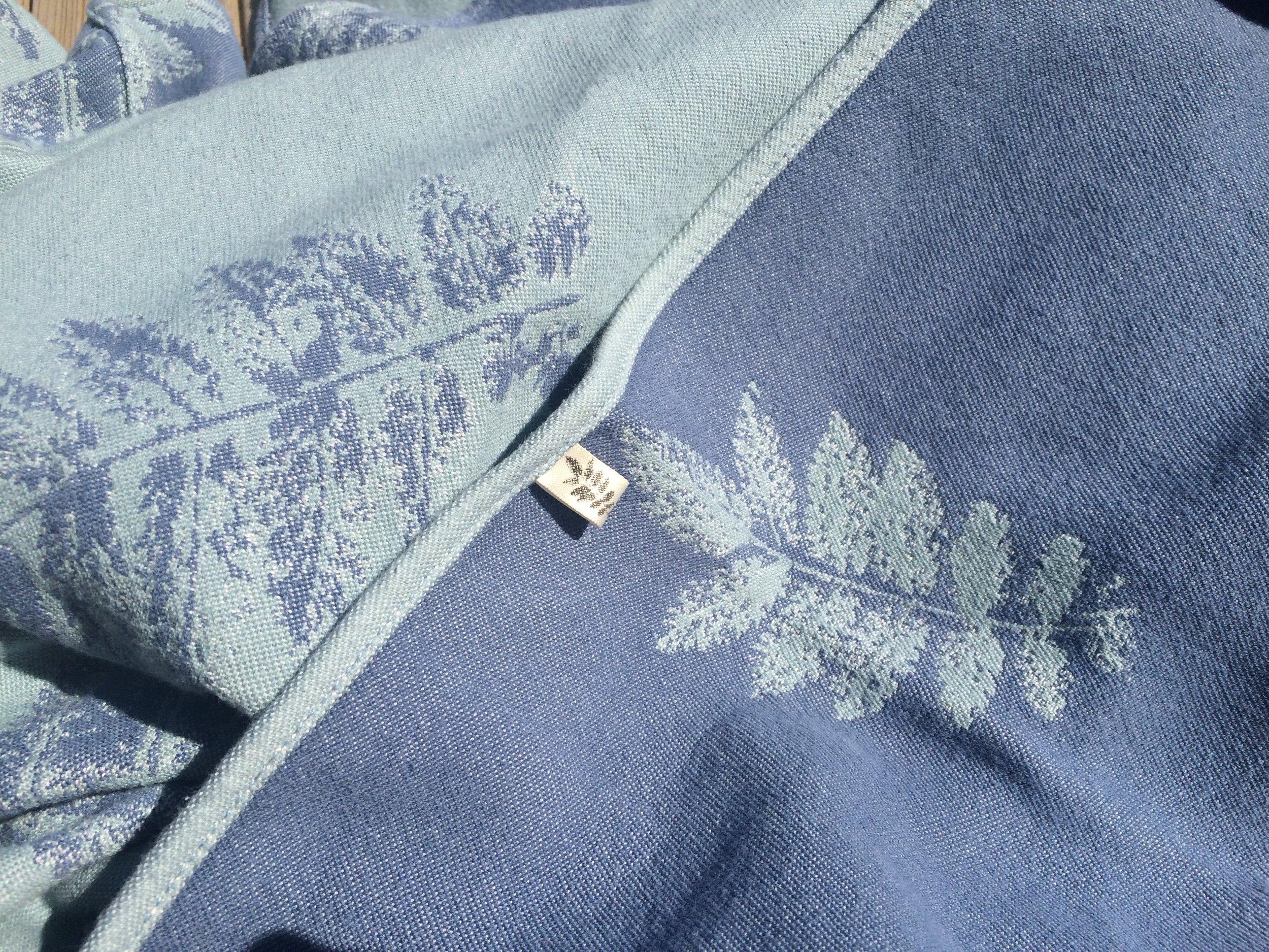 Close up of Rowan Bay's Sorbus Double Weave Prototype