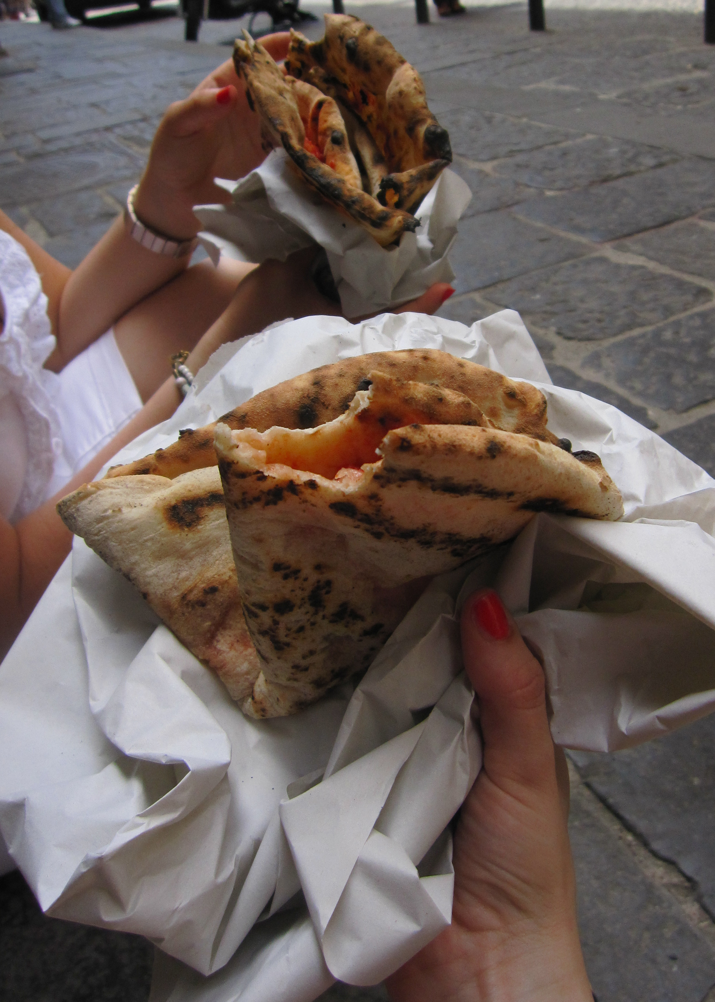 Pizza a portafoglio / 'Wallet' Pizza Wrapped