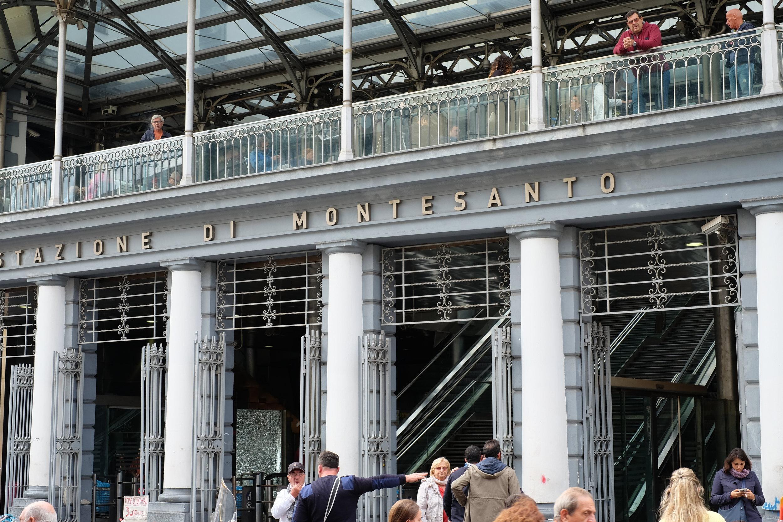 Funicolare of Montesanto.