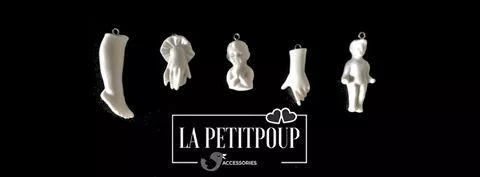 Jewellery inspired by the ex-voto culture, La Petitpoup Assessorise.