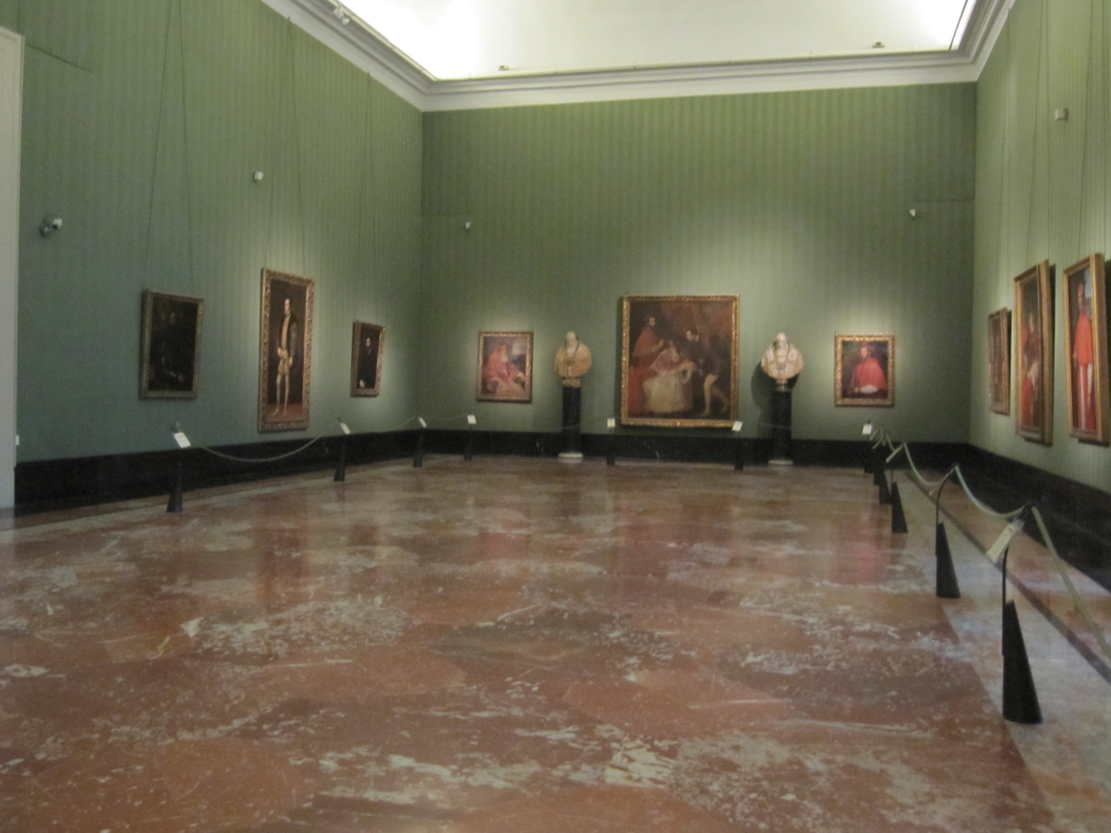 The Farnese Collection on the first floor.