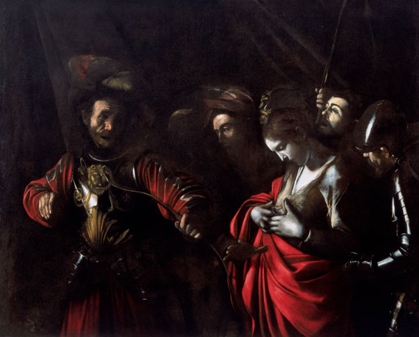 he Martyrdom of Saint Orsola  by Caravaggio