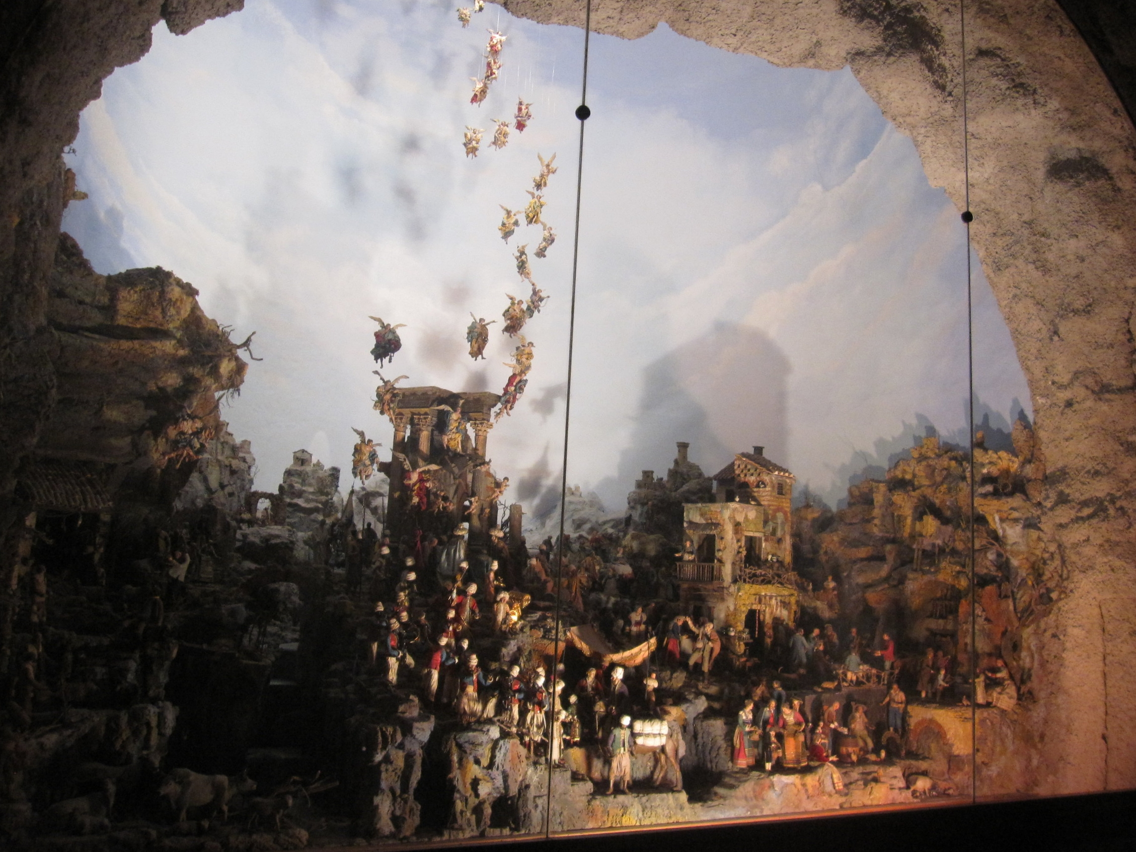 The Presepe Cuciniello.