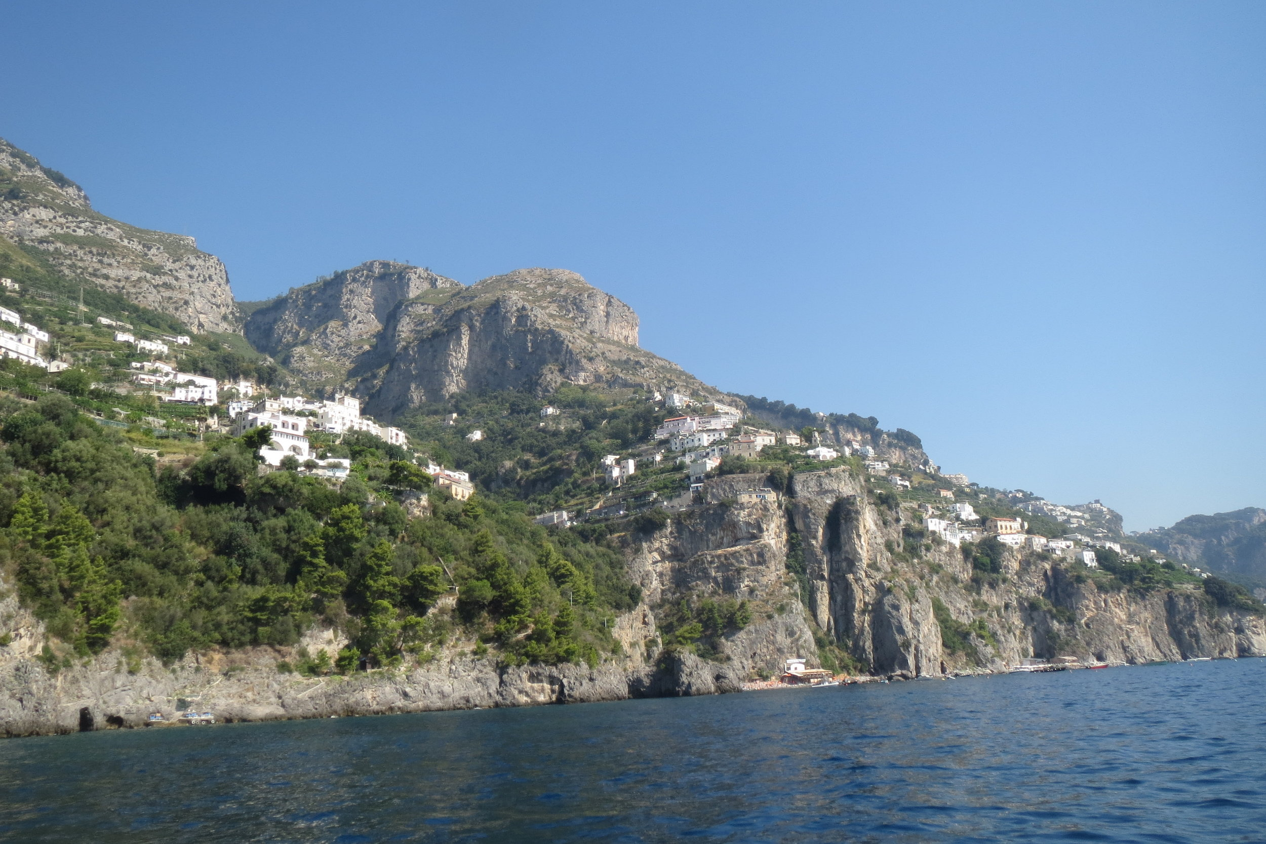 The charming features of the Amalfi coast.