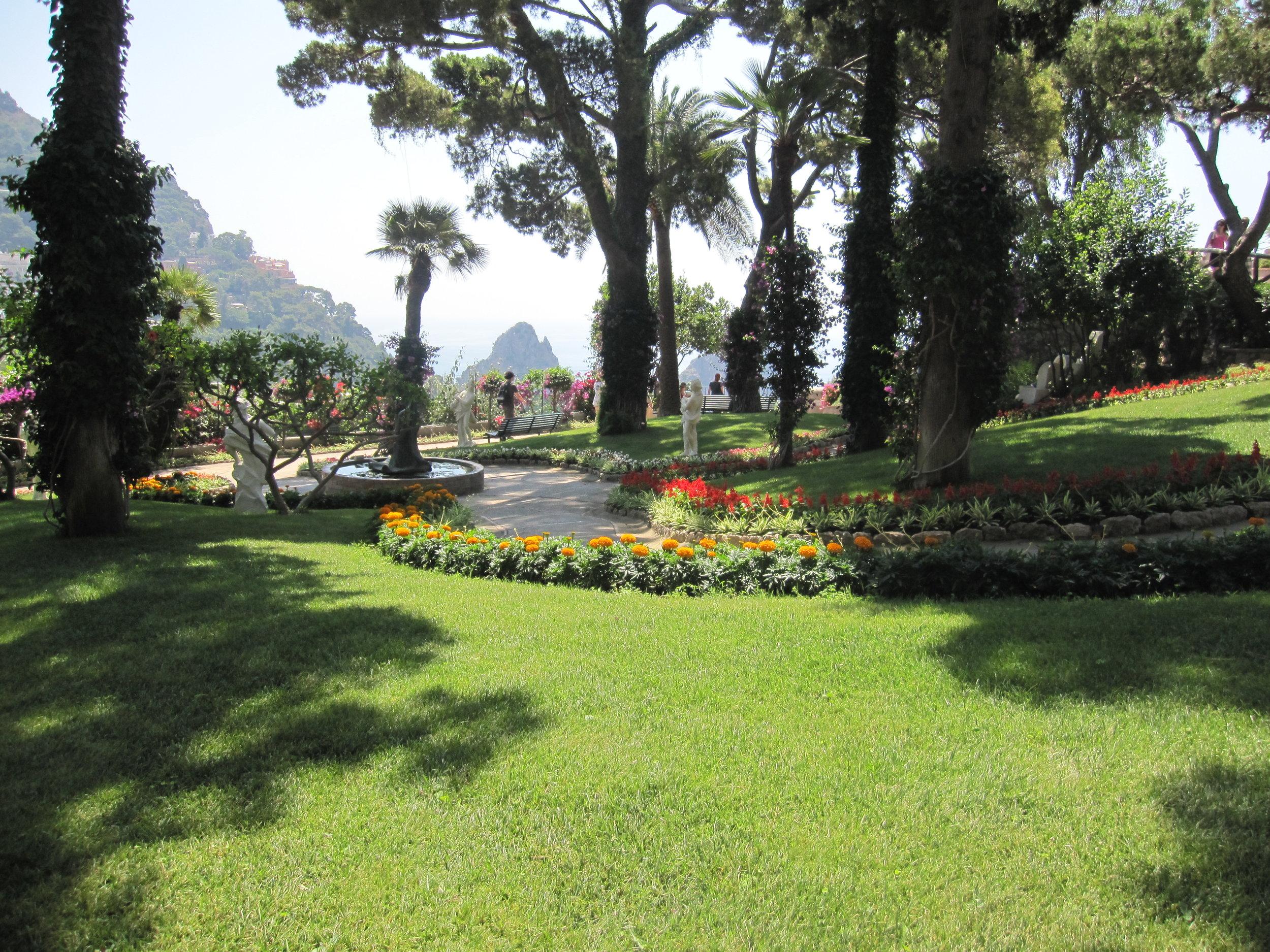 The lovely Augustus Gardens.