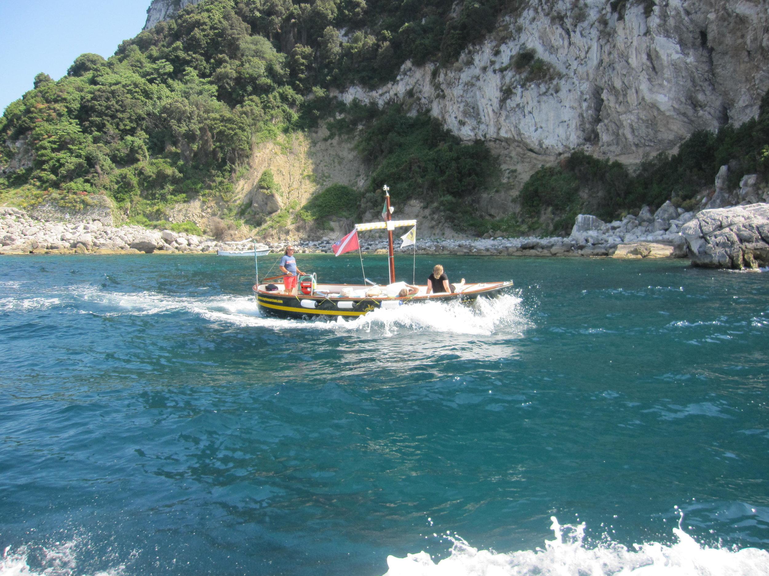Another way to get around Capri.
