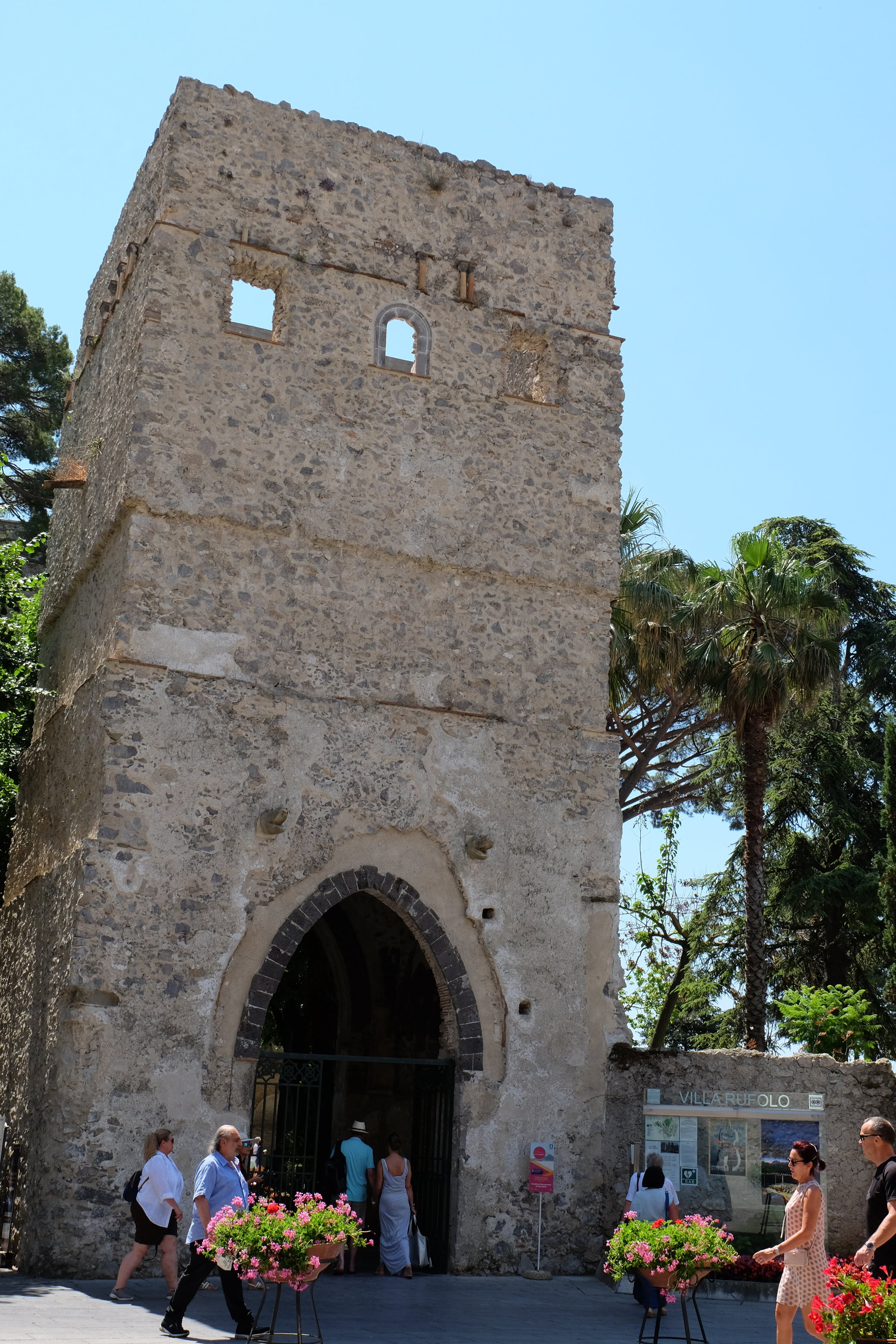 Entrance to Villa Rufolo.