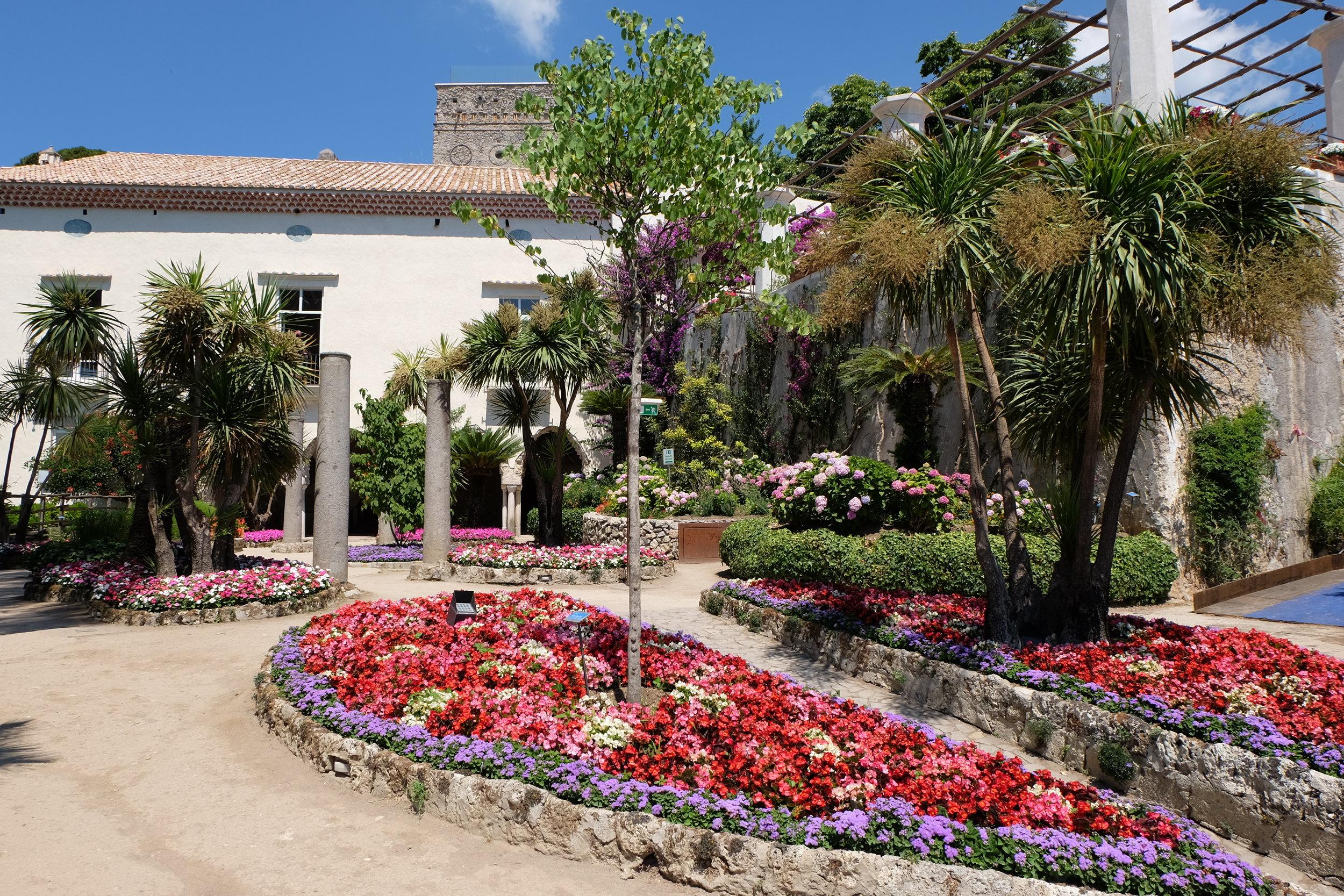 Gardens of the villa.