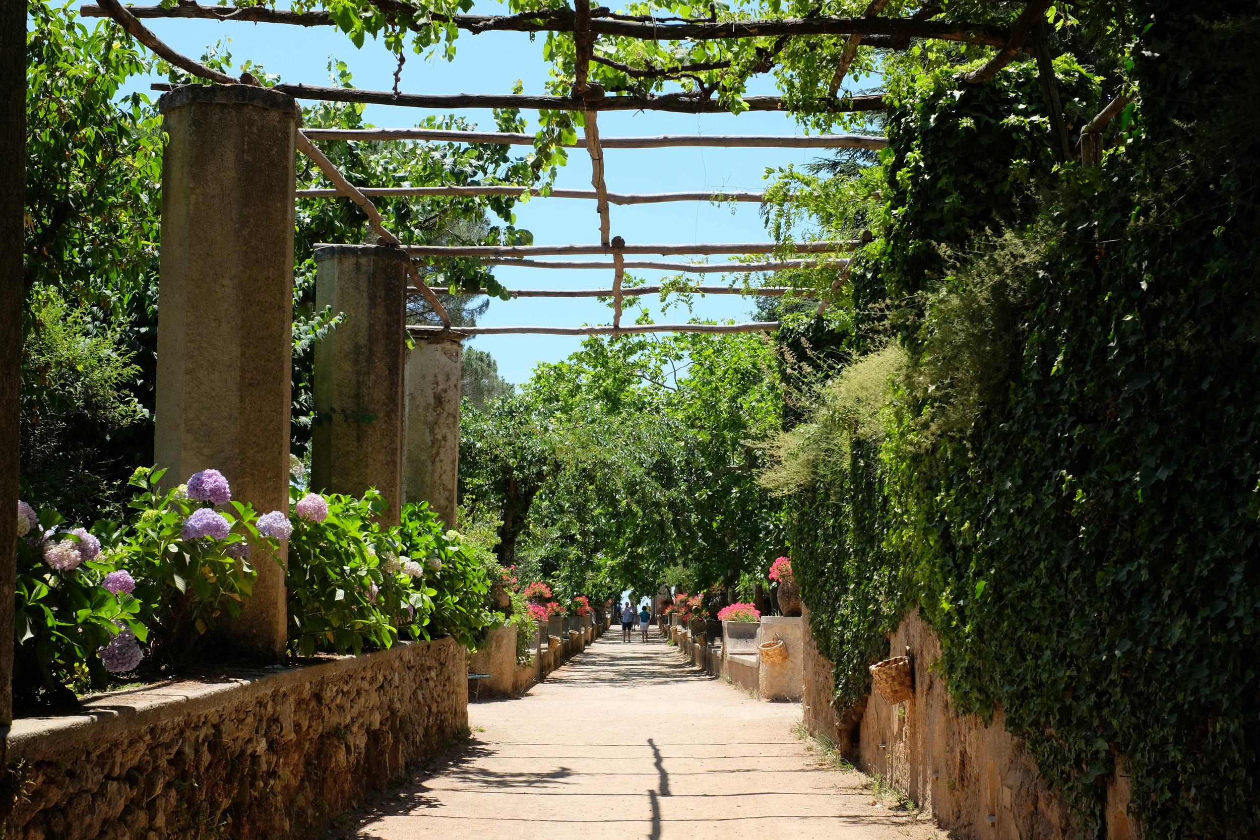 Gardens at Villa Cimbrone.